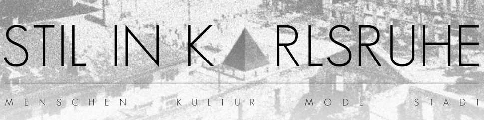 Stil in Karlsruhe | Menschen Kultur Mode Stadt header image 1